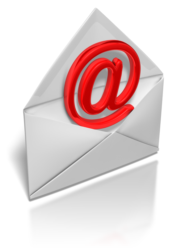 E-Mail-At in Briefumschlag