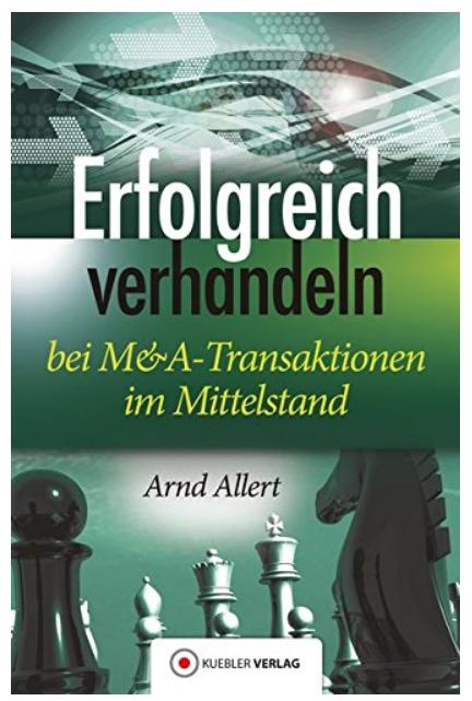 """Buchcover des Buches """"Erfolgreich verhandeln"""" von Arnd Allert"""